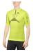 X-Bionic Trail Running Effektor Shirt Short Sleeves Zip-Up Men Green Lime/Black